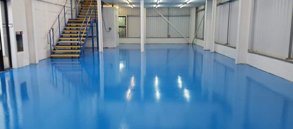 tampilan lantai epoxy